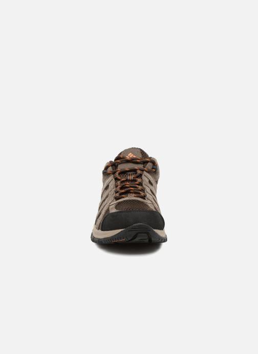 Zapatillas de deporte Columbia Canyon Point Marrón vista del modelo