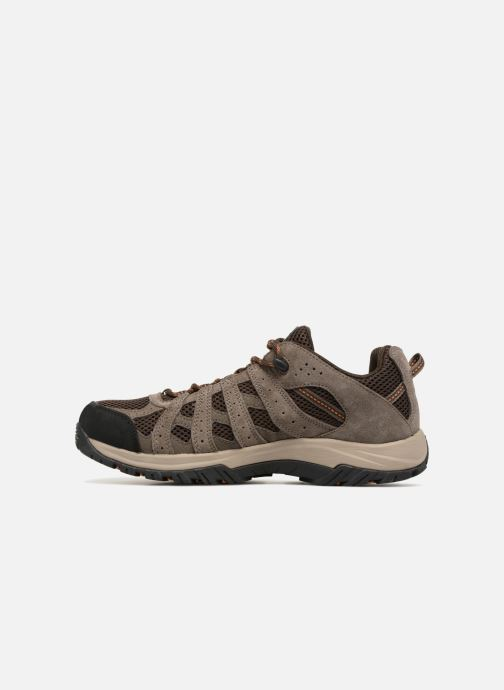 Chaussures de sport Columbia Canyon Point Marron vue face