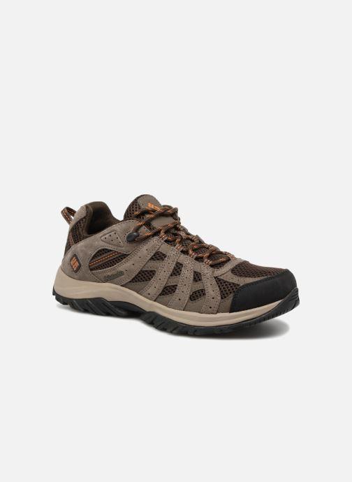 Chaussures de sport Columbia Canyon Point Marron vue détail/paire