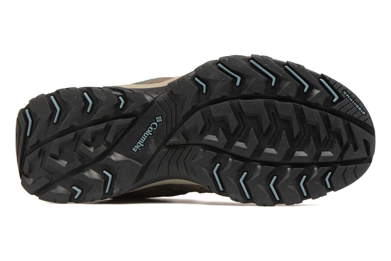 Chaussures de sport Columbia Canyon Point Gris vue haut