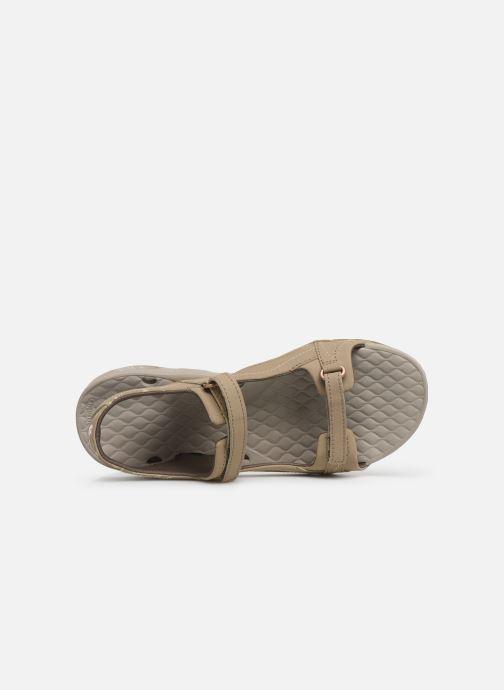 Zapatillas de deporte Columbia Sunlight Vent II Beige vista lateral izquierda