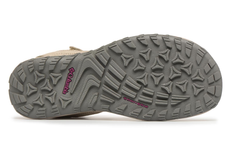 Chaussures de sport Columbia Santiam Beige vue haut