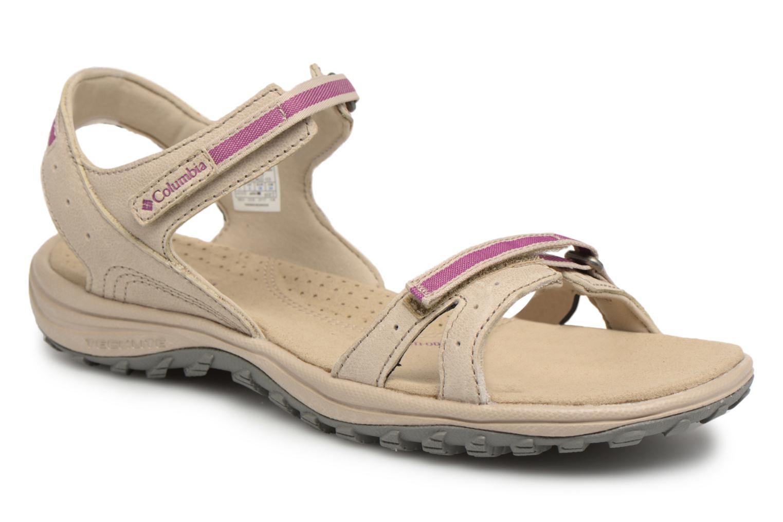 Chaussures de sport Columbia Santiam Beige vue détail/paire