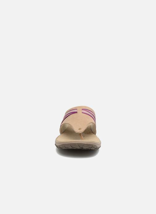Chaussures de sport Columbia Santiam Flip Beige vue portées chaussures