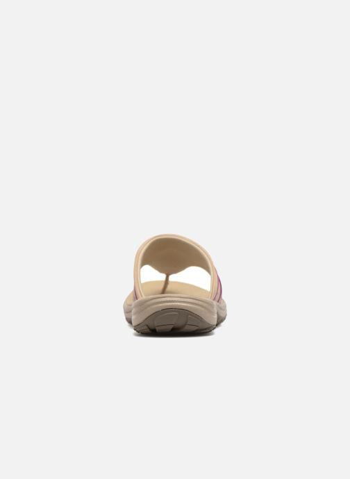 Zapatillas de deporte Columbia Santiam Flip Beige vista lateral derecha