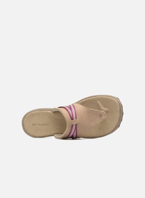 Chaussures de sport Columbia Santiam Flip Beige vue gauche