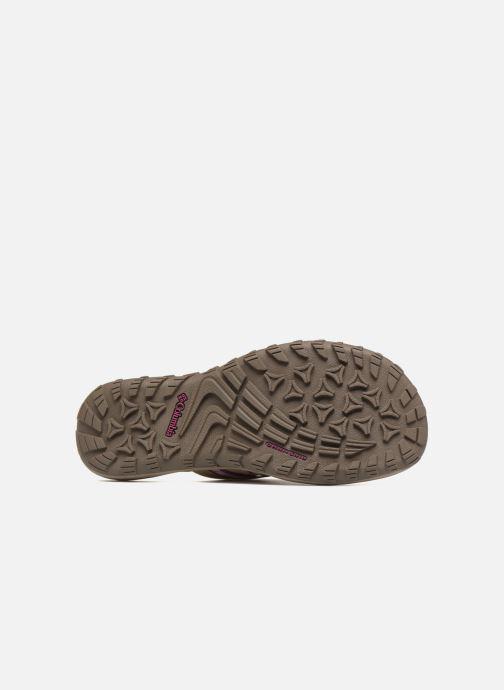 Chaussures de sport Columbia Santiam Flip Beige vue haut
