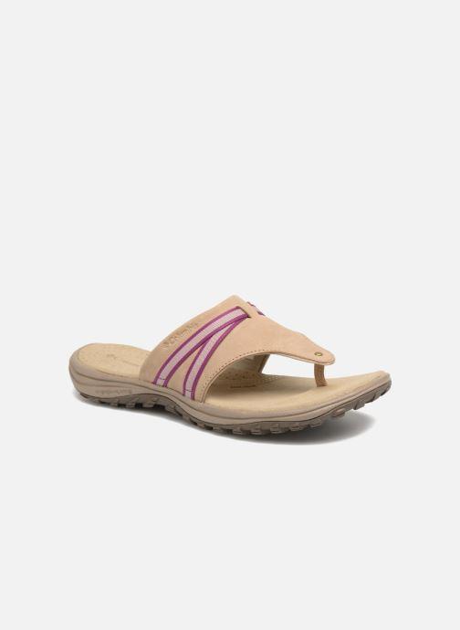 Chaussures de sport Columbia Santiam Flip Beige vue détail/paire