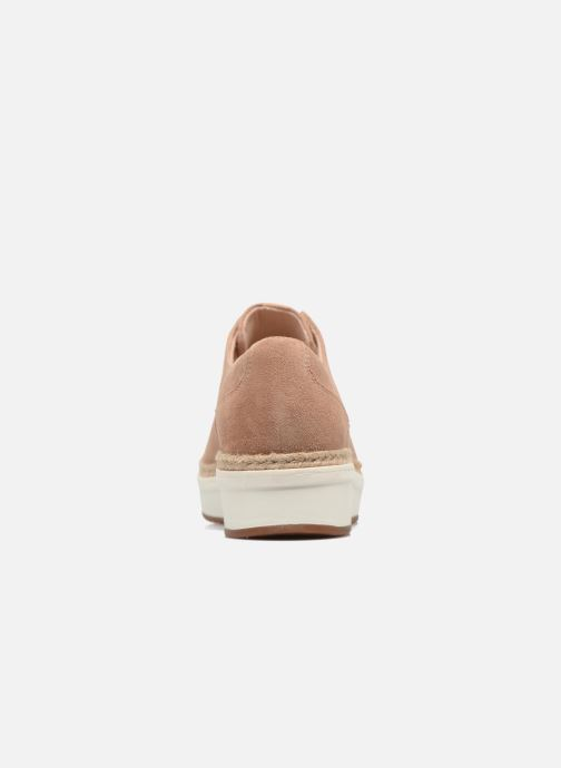Lace-up shoes Clarks Teadale Rhea Brown view from the right