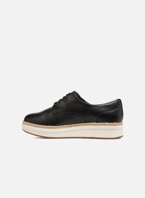 Zapatos con cordones Clarks Teadale Rhea Negro vista de frente