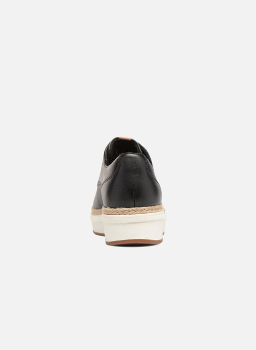 Zapatos con cordones Clarks Teadale Rhea Negro vista lateral derecha