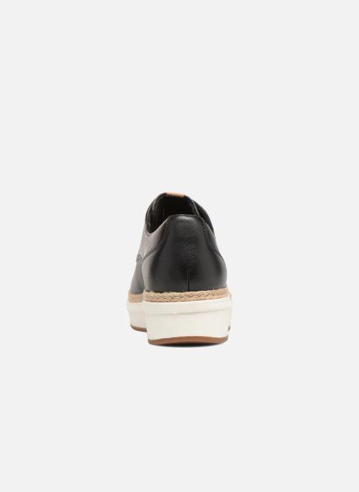 Snörade skor Clarks Teadale Rhea Svart Bild från höger sidan