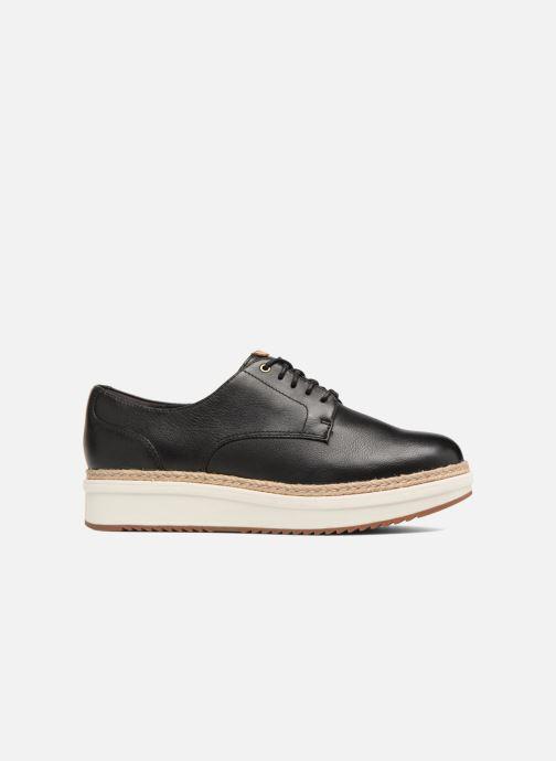 Zapatos con cordones Clarks Teadale Rhea Negro vistra trasera