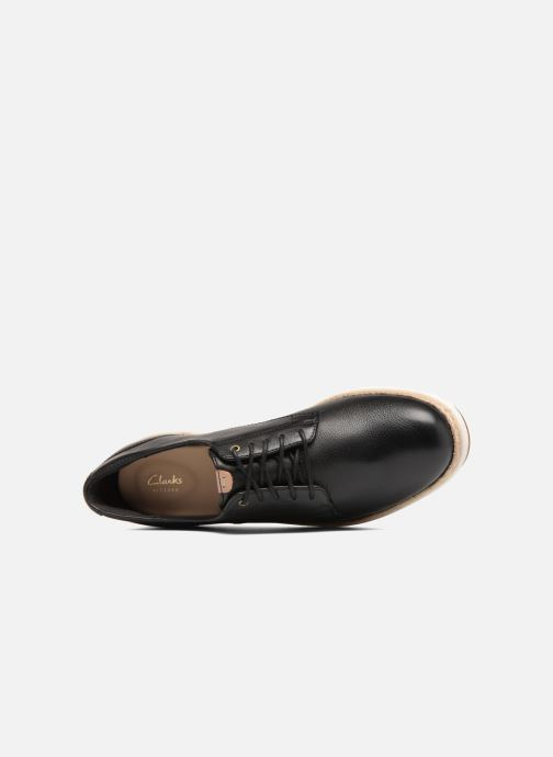 Zapatos con cordones Clarks Teadale Rhea Negro vista lateral izquierda