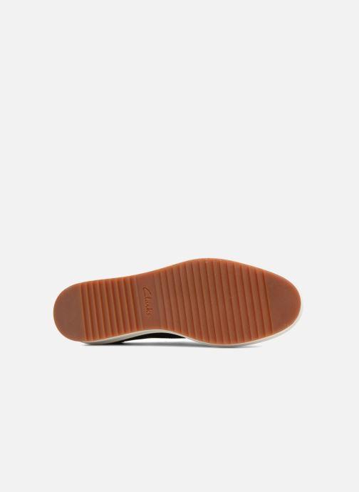 Zapatos con cordones Clarks Teadale Rhea Negro vista de arriba