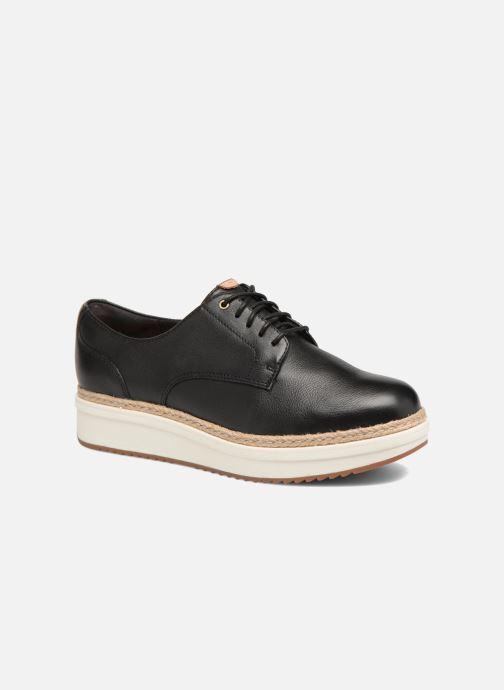 Zapatos con cordones Clarks Teadale Rhea Negro vista de detalle / par