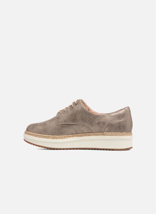 Chaussures à lacets Clarks Teadale Rhea Argent vue face