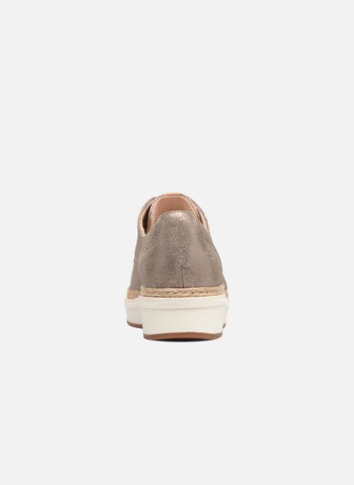 Chaussures à lacets Clarks Teadale Rhea Argent vue droite