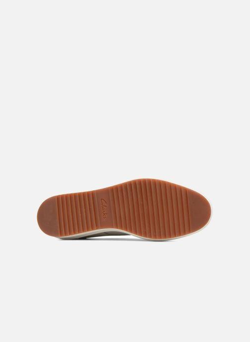Snörade skor Clarks Teadale Rhea Vit bild från ovan