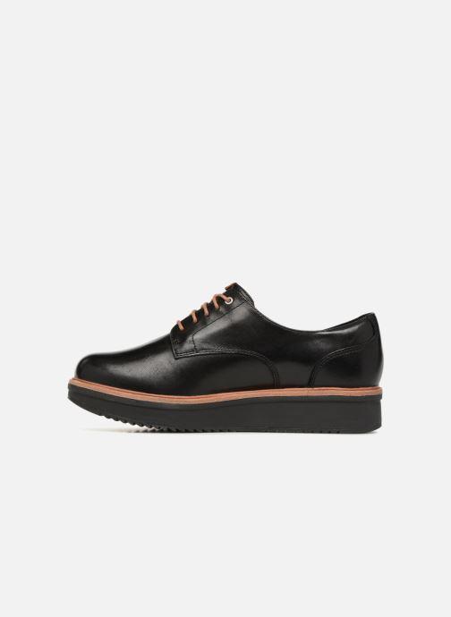 Chaussures à lacets Clarks Teadale Rhea Noir vue face