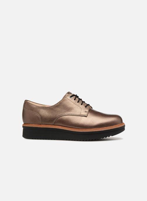 Zapatos con cordones Clarks Teadale Rhea Oro y bronce vistra trasera