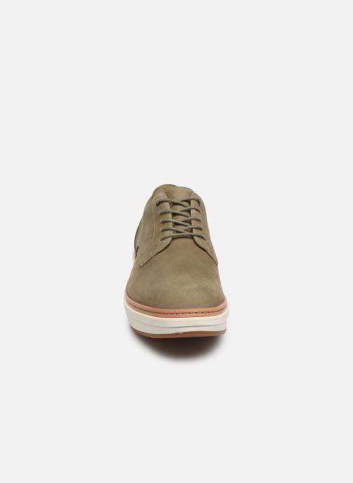 Zapatos con cordones Clarks Teadale Rhea Verde vista del modelo