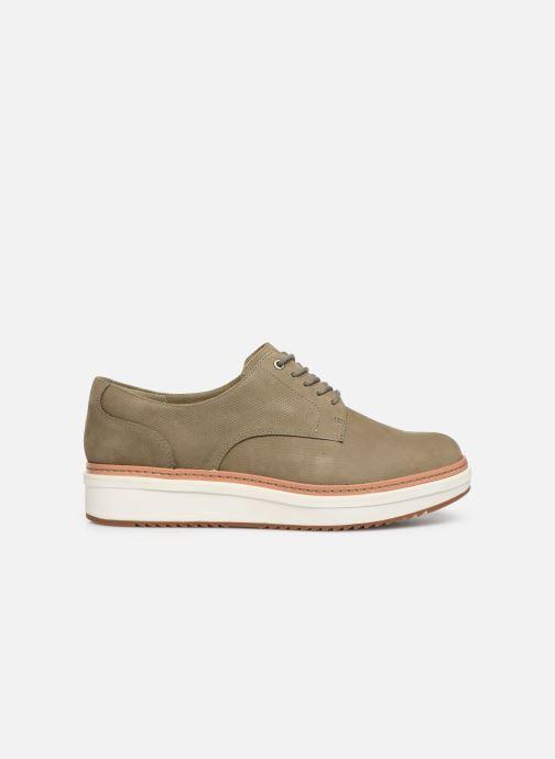 Zapatos con cordones Clarks Teadale Rhea Verde vistra trasera