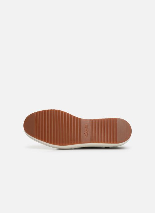 Zapatos con cordones Clarks Teadale Rhea Verde vista de arriba