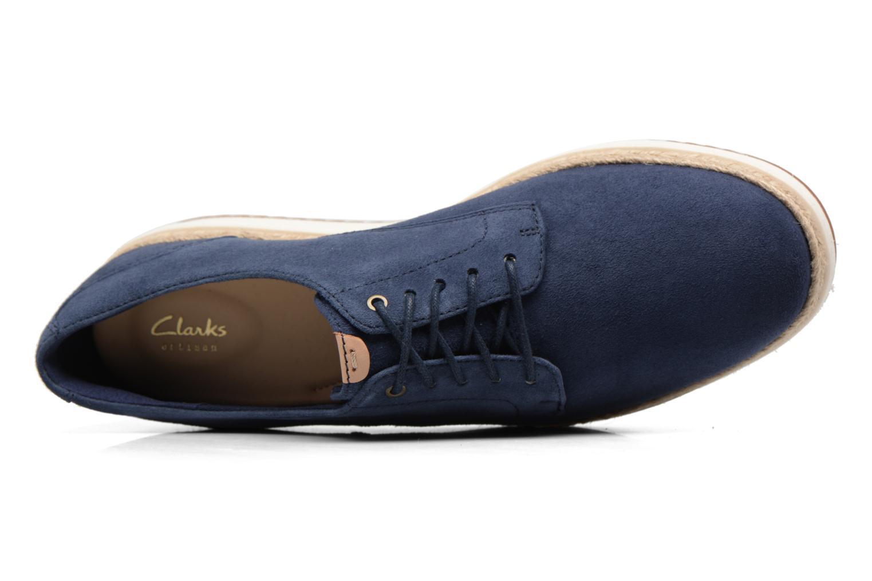 Chaussures à lacets Clarks Teadale Rhea Noir vue gauche
