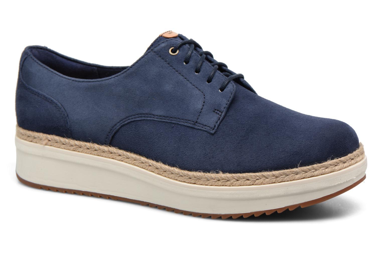Chaussures à lacets Clarks Teadale Rhea Noir vue détail/paire
