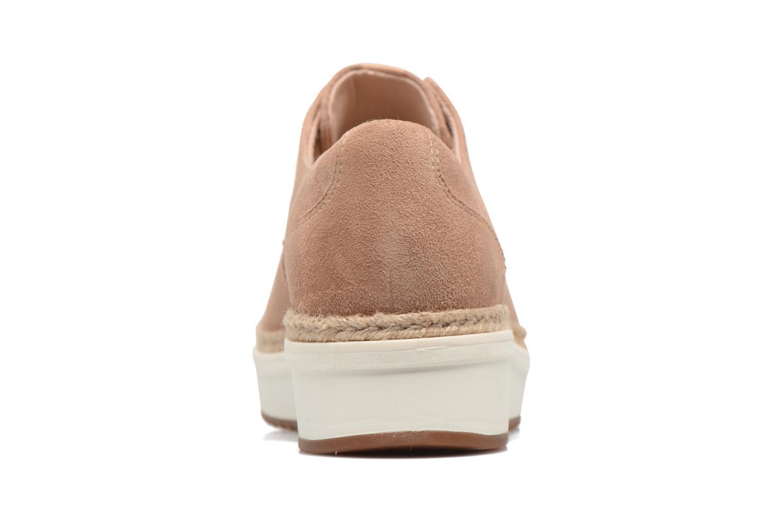 Chaussures à lacets Clarks Teadale Rhea Marron vue droite