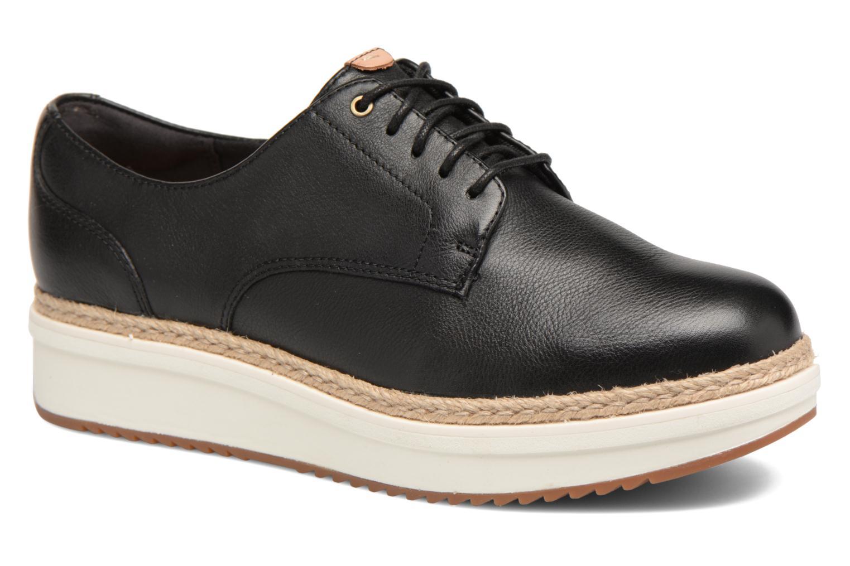 Casual salvaje  Clarks Teadale con Rhea (Negro) - Zapatos con Teadale cordones en Más cómodo ff1e28