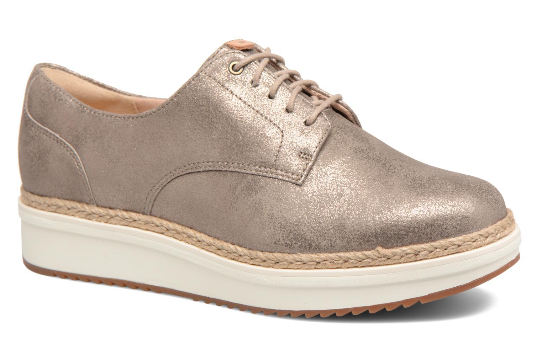 Cómodo y bien parecido  Clarks Teadale con Rhea (Plateado) - Zapatos con Teadale cordones en Más cómodo 40703d