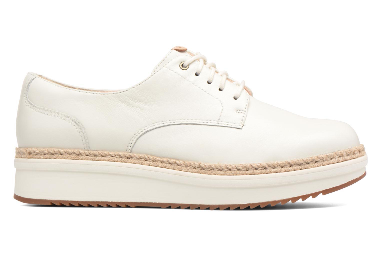 Chaussures à lacets Clarks Teadale Rhea Blanc vue derrière