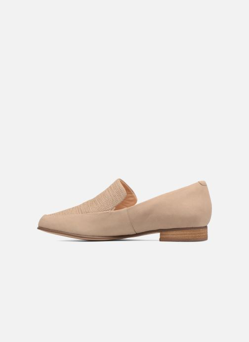 Loafers Clarks Pure Sense Beige front view