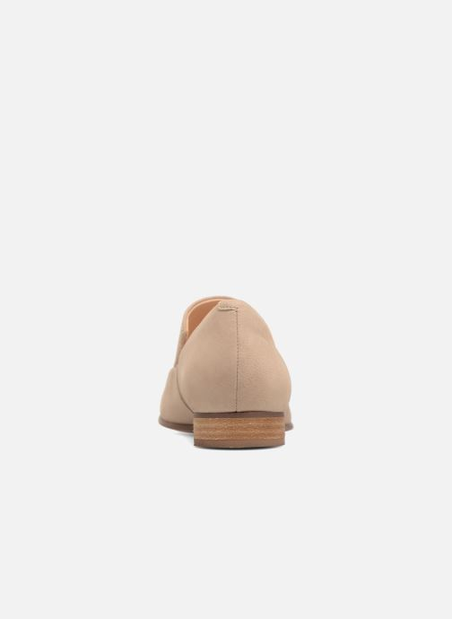 Loafers Clarks Pure Sense Beige view from the right