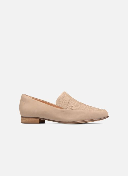 Loafers Clarks Pure Sense Beige back view