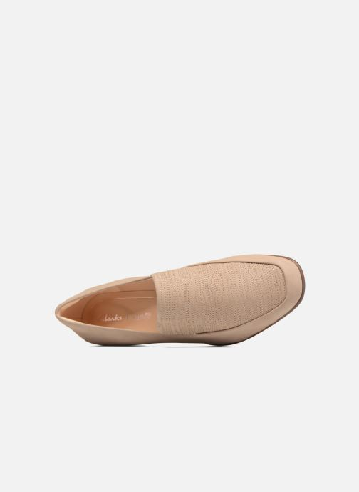 Loafers Clarks Pure Sense Beige view from the left