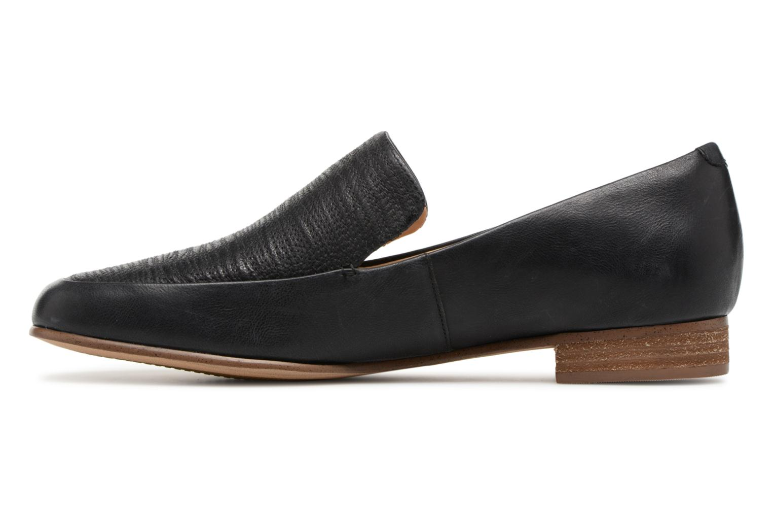 Loafers Clarks Pure Sense Black front view