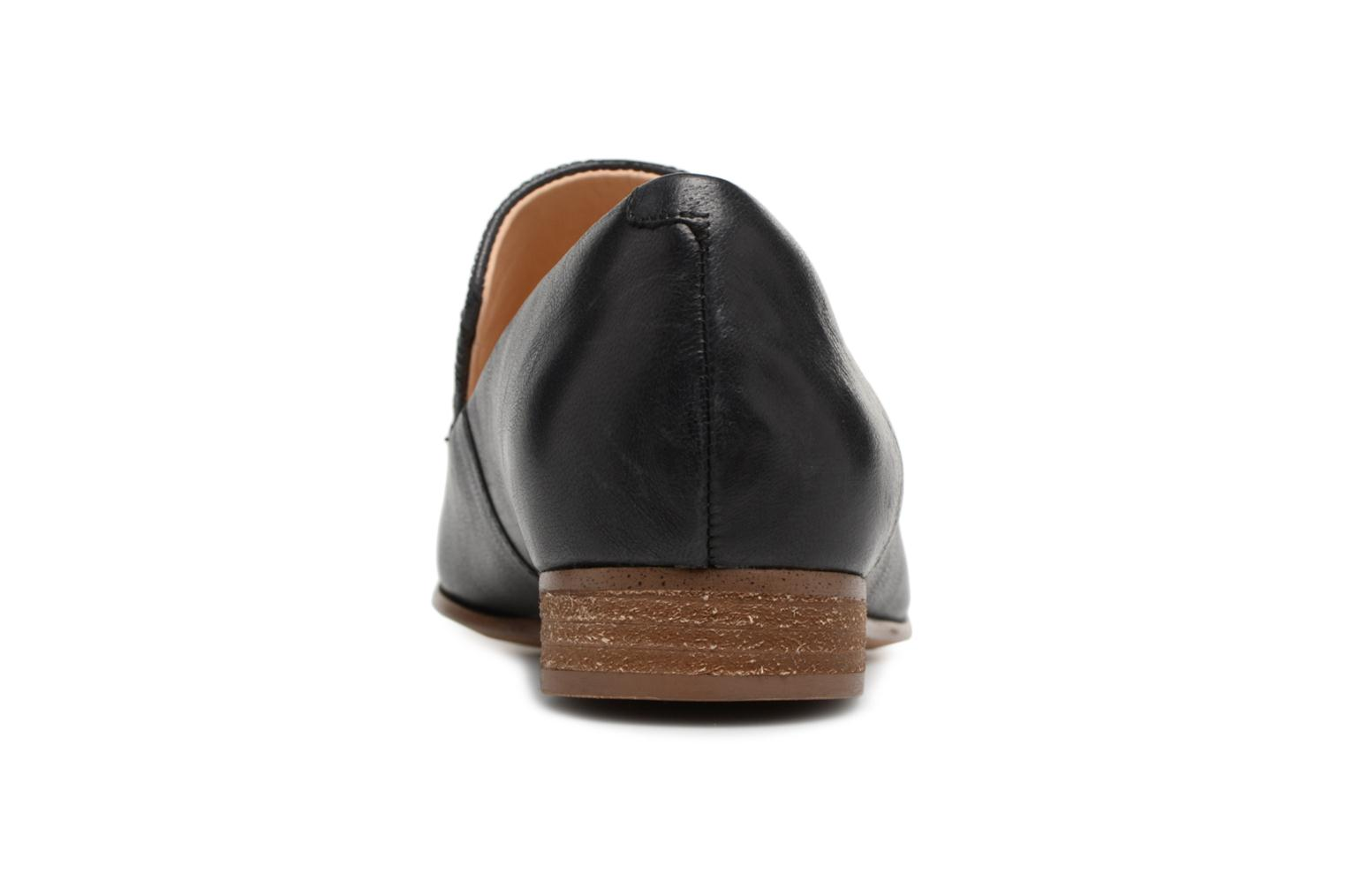 Loafers Clarks Pure Sense Black view from the right