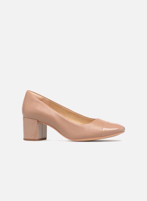 High heels Clarks Orabella Mia Beige back view