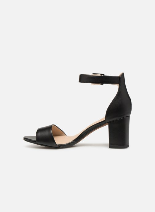 Zapatos de tacón Clarks DEVA MAE Negro vista de frente