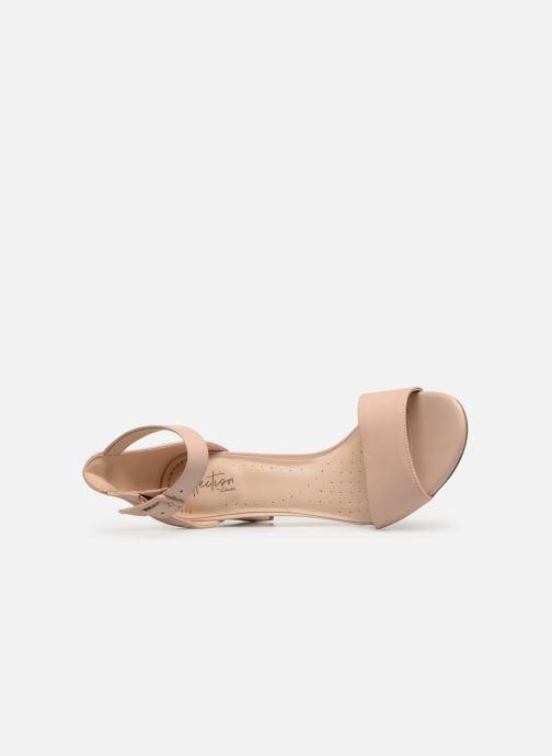 Zapatos de tacón Clarks DEVA MAE Beige vista lateral izquierda