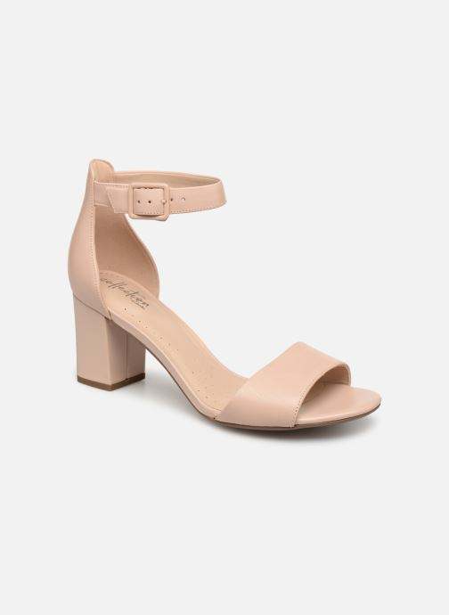 f7ecf99c8ea5 ... Women s shoes · Women s Clarks  DEVA MAE. High heels Clarks DEVA MAE  Beige detailed view  Pair view
