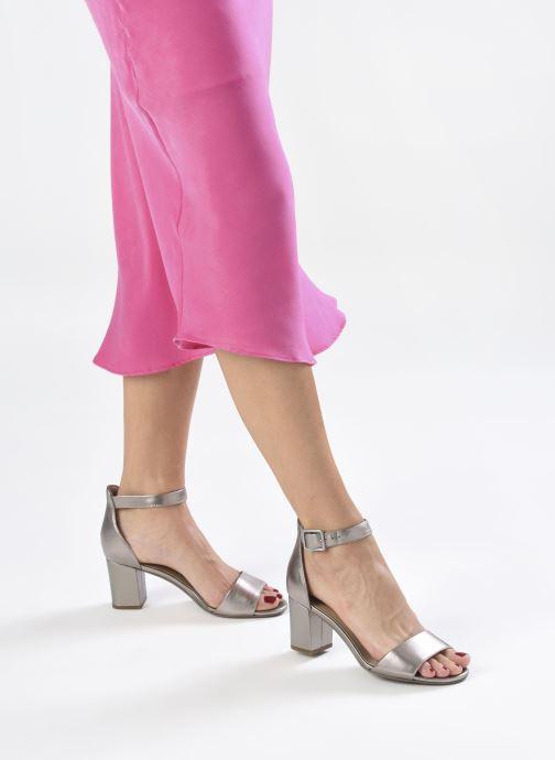 Zapatos de tacón Clarks DEVA MAE Plateado vista de abajo