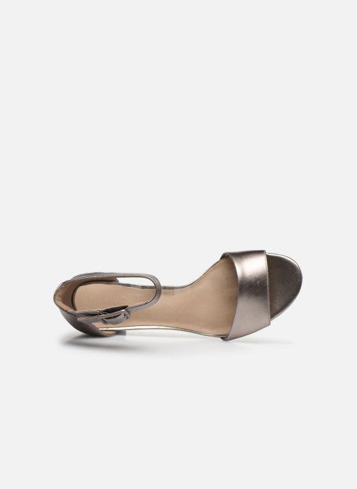 Zapatos de tacón Clarks DEVA MAE Plateado vista lateral izquierda