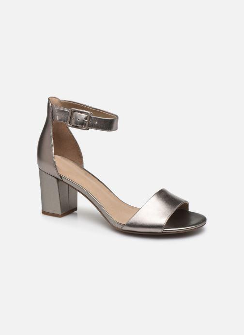 Zapatos de tacón Clarks DEVA MAE Plateado vista de detalle / par