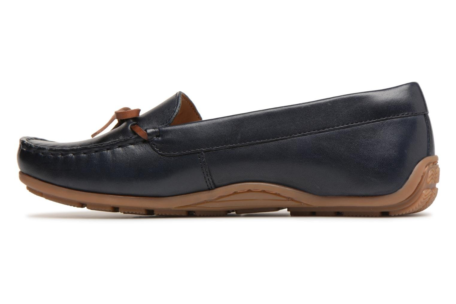 Loafers Clarks DAMEO SWING Blue front view