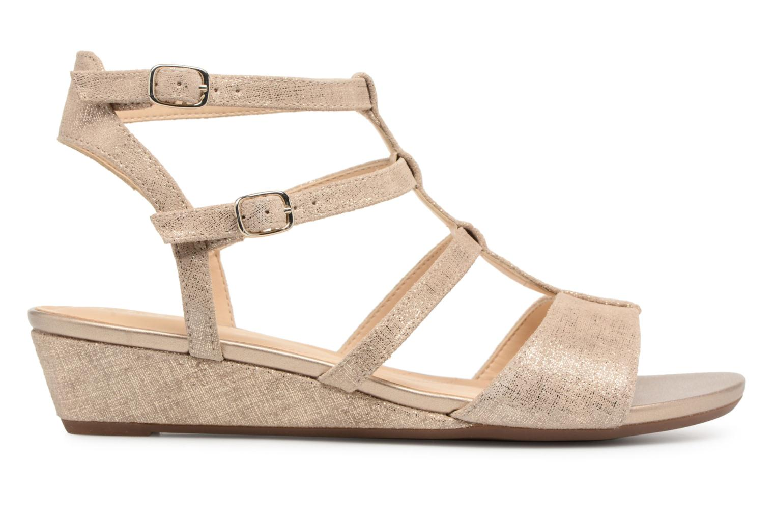 Sandals Clarks Parram Spice Bronze and Gold back view