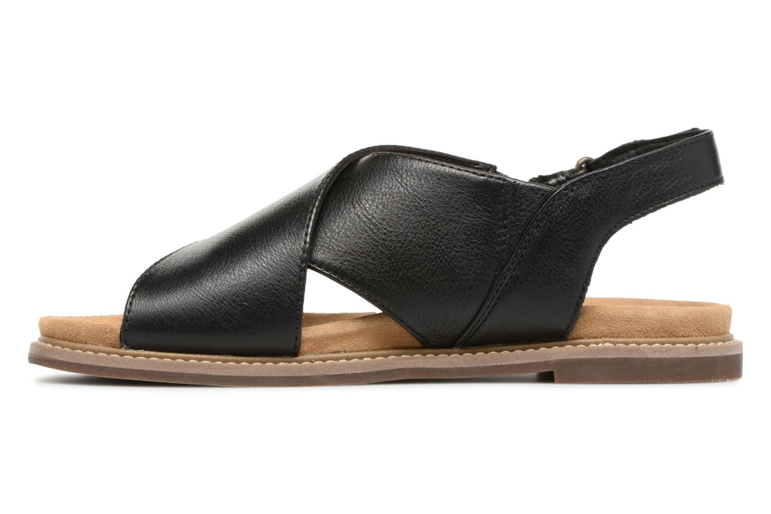 Sandals Clarks Corsio Calm Black front view